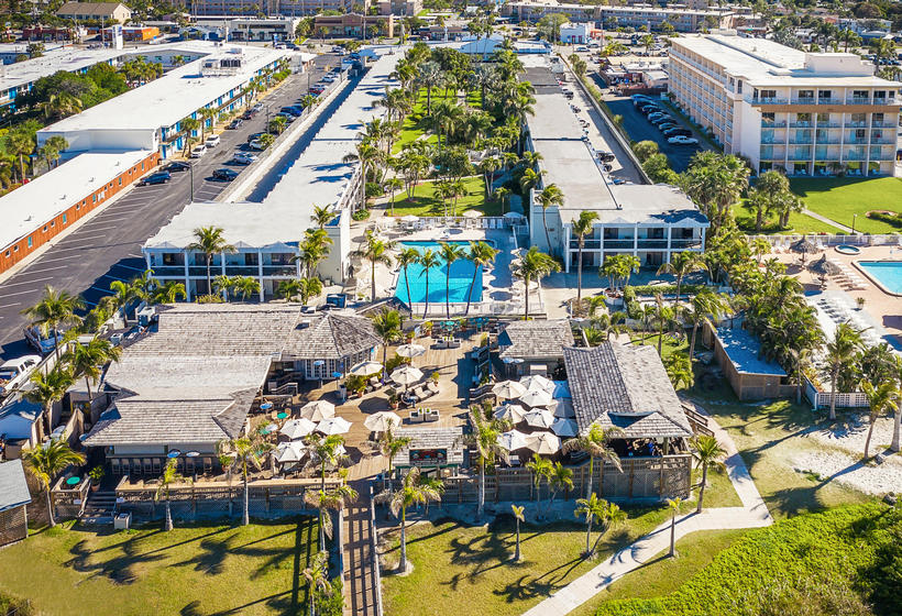 Aerial View of The Beachcomber Hotel